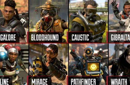 Alle Apex Legends Characters en Hun Eigenschappen