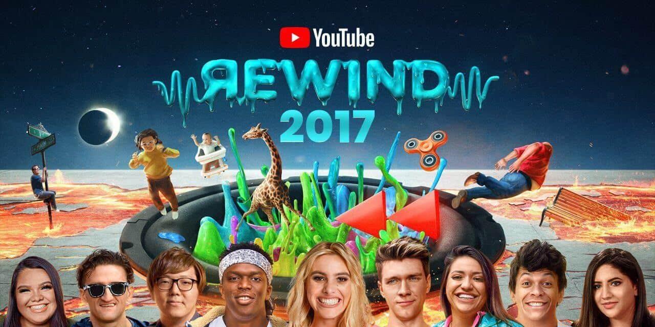 Youtube Rewind van 2017