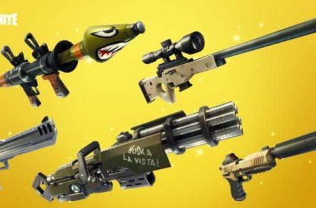 Beste wapens om te gebruiken in Fortnite Battle Royale
