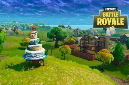 Fortnite Birthday Cake Challenge Locaties