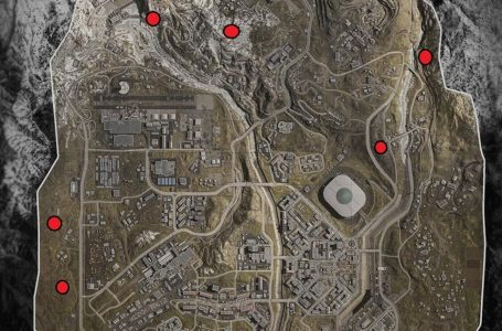 Call Of Duty Warzone Bunker Locaties